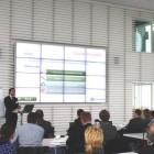 WorldLoop presenting at founding organization's Strategic Partner Day.