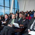 Stakeholders attending WorldLoop's first ever Ambassador Day, Umicore - Hoboken Belgium
