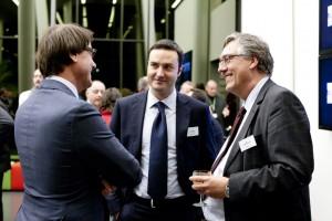 Koen De Mesmaeker (Umicore); Thomas Poelmans (WorldLoop)