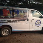 BAC's promotional van