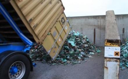 1st container arriving in Belgium