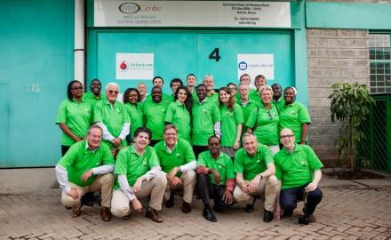 2013 - WorldLoop stakeholders visiting the WEEE Centre.